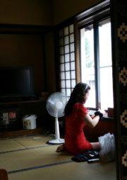 昭和の部屋にて